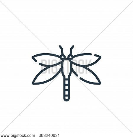dragonfly icon isolated on white background from spring collection. dragonfly icon trendy and modern