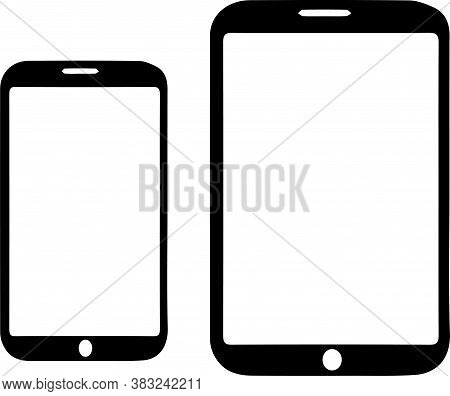 Smartphone Vector On White Background Touchscreen, Vector, White, Wireless