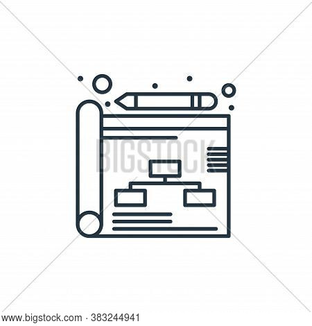 strategy icon isolated on white background from strategy collection. strategy icon trendy and modern