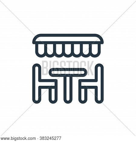 dinner icon isolated on white background from spring collection. dinner icon trendy and modern dinne