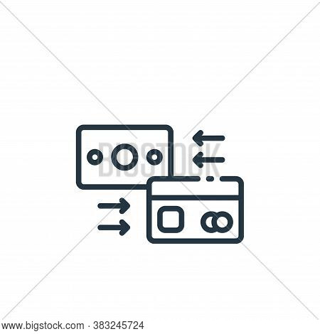 payment method icon isolated on white background from finance collection. payment method icon trendy
