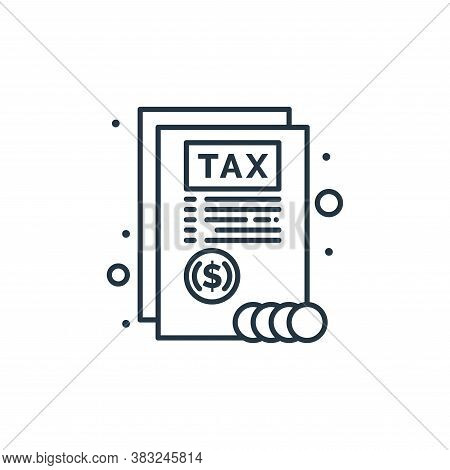 report icon isolated on white background from taxes collection. report icon trendy and modern report