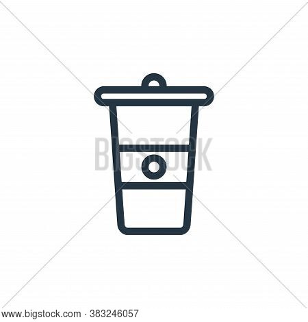 glass icon isolated on white background from food and drinks collection. glass icon trendy and moder