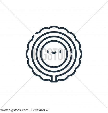 ring of fire icon isolated on white background from carnival collection. ring of fire icon trendy an