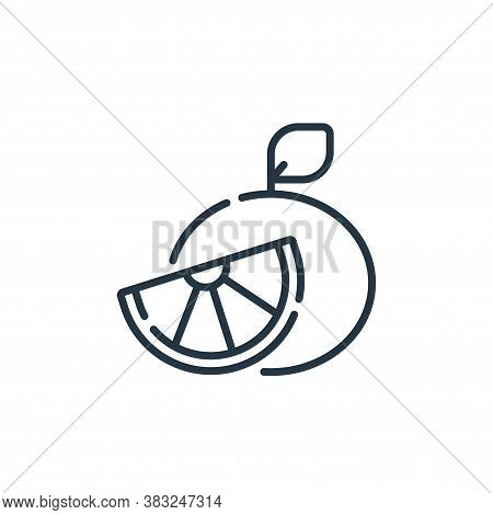 grapefruit icon isolated on white background from spring collection. grapefruit icon trendy and mode