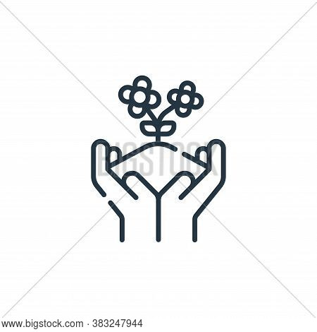 planting icon isolated on white background from spring collection. planting icon trendy and modern p