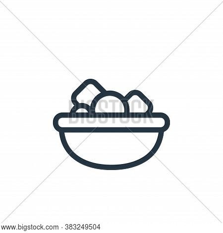food icon isolated on white background from food and drinks collection. food icon trendy and modern