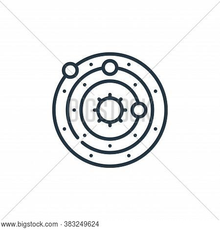 astronomy icon isolated on white background from education collection. astronomy icon trendy and mod