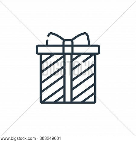 gift icon isolated on white background from ireland collection. gift icon trendy and modern gift sym