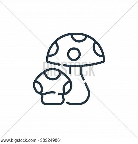 mushroom icon isolated on white background from spring collection. mushroom icon trendy and modern m