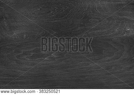 Black Painted Wood Board Texture Background. Timber Wood Texture.