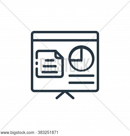 report icon isolated on white background from finance collection. report icon trendy and modern repo