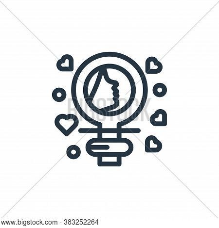 woman icon isolated on white background from women day collection. woman icon trendy and modern woma