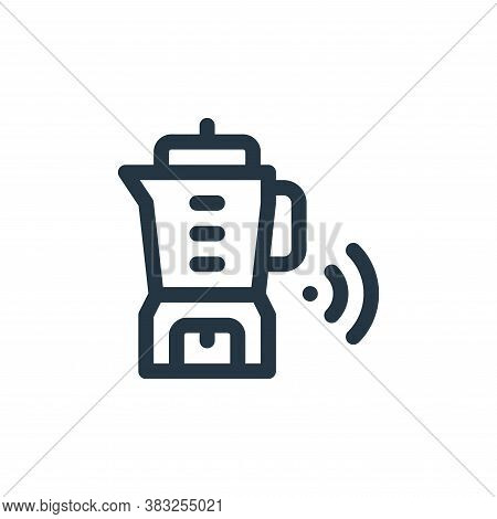 blender icon isolated on white background from smart home collection. blender icon trendy and modern