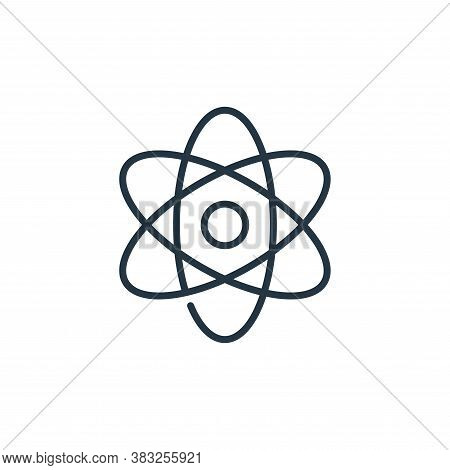 science icon isolated on white background from education collection. science icon trendy and modern
