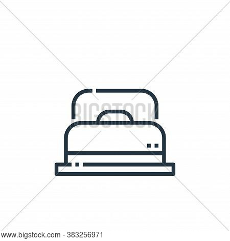 bed icon isolated on white background from hotel essentials collection. bed icon trendy and modern b