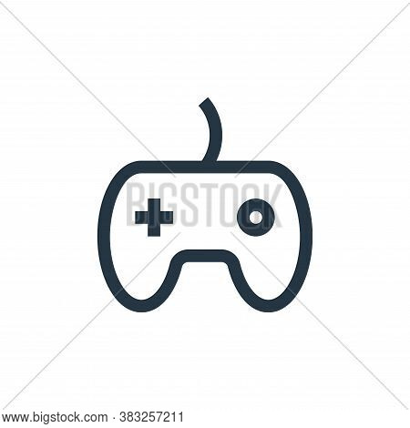gamepad icon isolated on white background from esports collection. gamepad icon trendy and modern ga