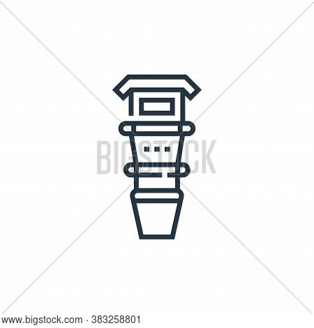 shin icon isolated on white background from baseball collection. shin icon trendy and modern shin sy