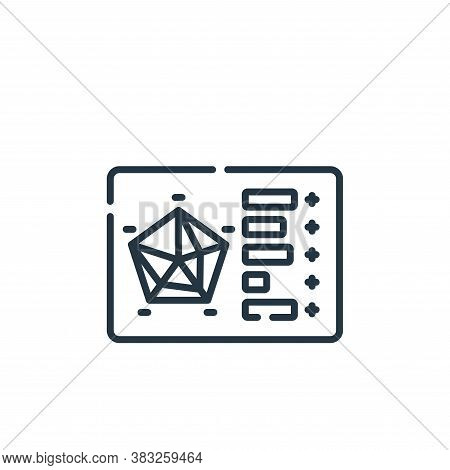 status icon isolated on white background from esports collection. status icon trendy and modern stat