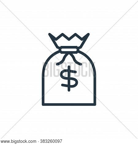 cost icon isolated on white background from busines and finace collection. cost icon trendy and mode