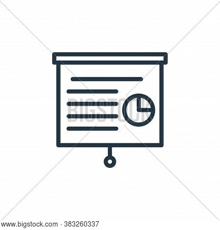 project icon isolated on white background from busines and finace collection. project icon trendy an