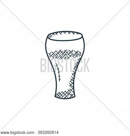 drink icon isolated on white background from food collection. drink icon trendy and modern drink sym