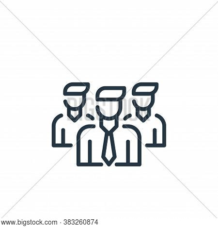 teamwork icon isolated on white background from business collection. teamwork icon trendy and modern
