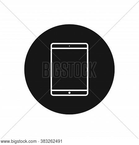 Tablet Icon Isolated On White Background. Tablet Icon In Trendy Design Style For Web Site And Mobile