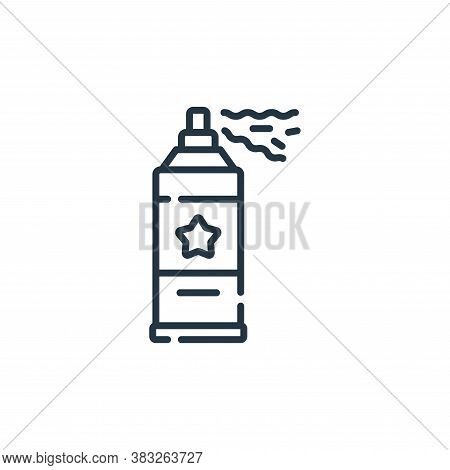 spray icon isolated on white background from event collection. spray icon trendy and modern spray sy