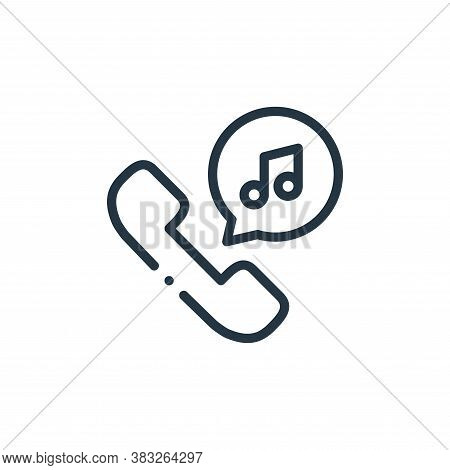 music icon isolated on white background from music collection. music icon trendy and modern music sy