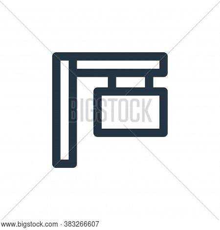 signs icon isolated on white background from sign symbol collection. signs icon trendy and modern si