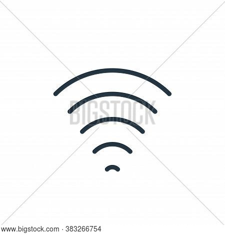 wifi icon isolated on white background from communication collection. wifi icon trendy and modern wi