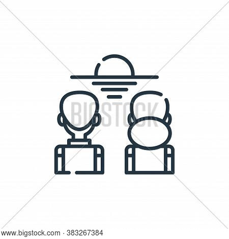 enjoy icon isolated on white background from friendship collection. enjoy icon trendy and modern enj