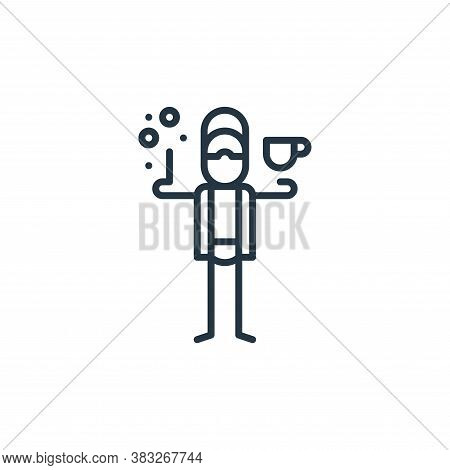 drinking icon isolated on white background from graphic design collection. drinking icon trendy and