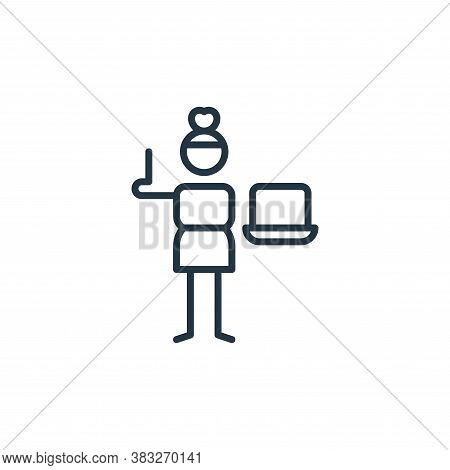 laptop icon isolated on white background from graphic design collection. laptop icon trendy and mode