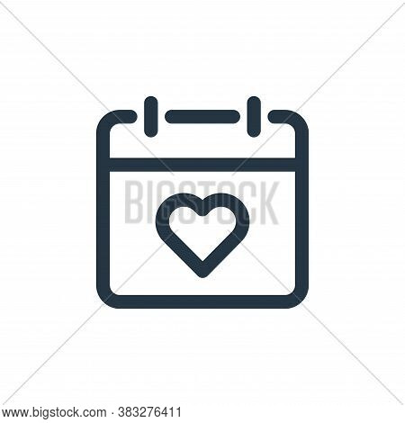 dating icon isolated on white background from valentines day collection. dating icon trendy and mode