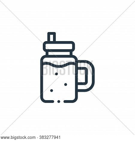 smoothie icon isolated on white background from nutrition collection. smoothie icon trendy and moder