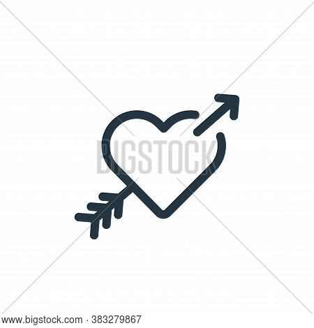 cupid icon isolated on white background from valentines day collection. cupid icon trendy and modern