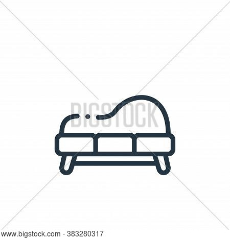 sofa icon isolated on white background from furniture collection. sofa icon trendy and modern sofa s
