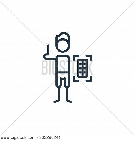 grid icon isolated on white background from graphic design collection. grid icon trendy and modern g