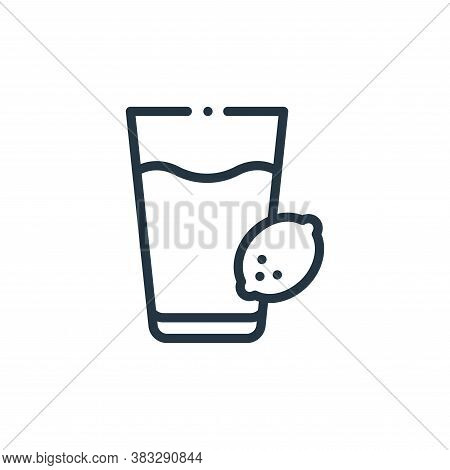 lemonade icon isolated on white background from nutrition collection. lemonade icon trendy and moder