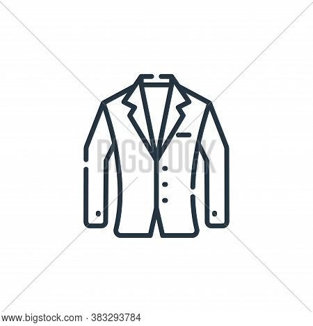 suit icon isolated on white background from event collection. suit icon trendy and modern suit symbo