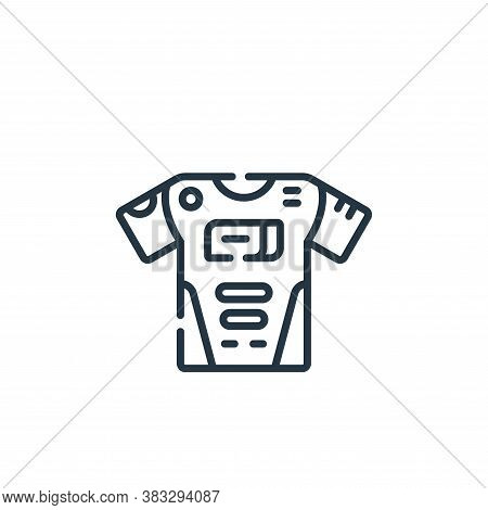 jersey icon isolated on white background from esports collection. jersey icon trendy and modern jers