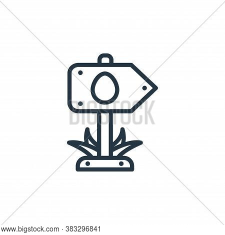 location icon isolated on white background from easter collection. location icon trendy and modern l