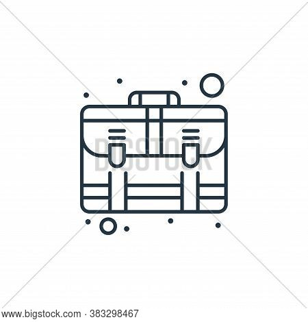 suitcase icon isolated on white background from seo collection. suitcase icon trendy and modern suit