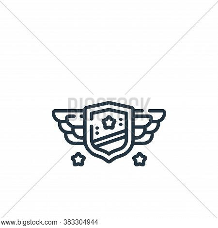 badge icon isolated on white background from esports collection. badge icon trendy and modern badge
