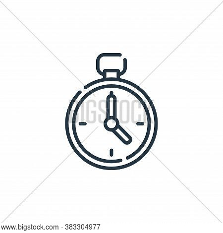 timer icon isolated on white background from auction collection. timer icon trendy and modern timer