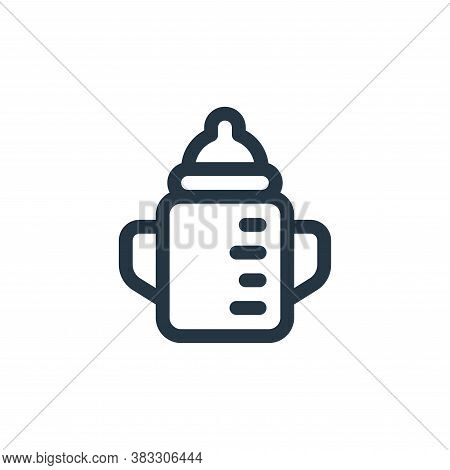 feeder icon isolated on white background from baby shower collection. feeder icon trendy and modern