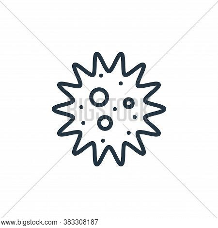 amoeba icon isolated on white background from microorganism collection. amoeba icon trendy and moder