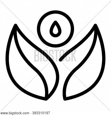 Medical Essential Oil Icon. Outline Medical Essential Oil Vector Icon For Web Design Isolated On Whi